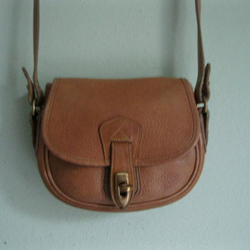 Vintage Tan DOONEY and BOURKE Small Cross Body AWL by AmandelOe