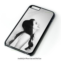 Lana Del Rey Supreme American Flag Design for iPhone and iPod Touch Case