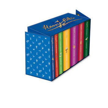 Harry Potter Signature Edition Box Set Complete (Hardback) By (author) J. K. Rowling