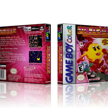 GBC - Ms. Pac-Man - Collector's Game Case