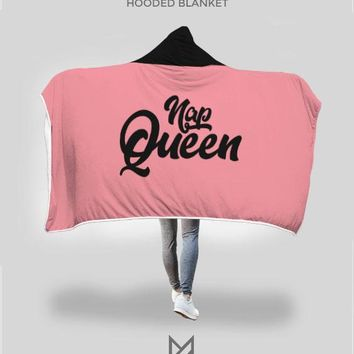 Nap Queen Hooded Blanket