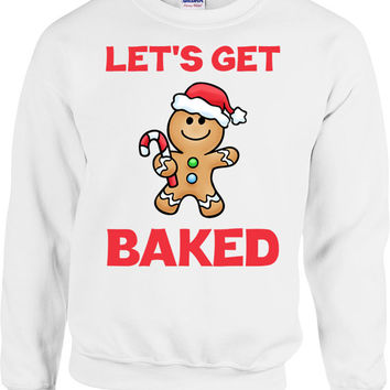 Funny Christmas Sweater Gifts For Stoners Xmas Outfit Weed Clothing Holiday Present Pot Smoker Christmas Humor Holiday Season Hoodie - SA699