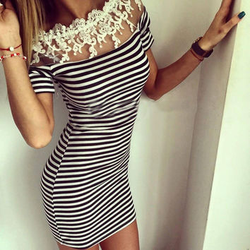 New Fashion Summer Sexy Women Dress Casual Dress for Party and Date = 4725268356