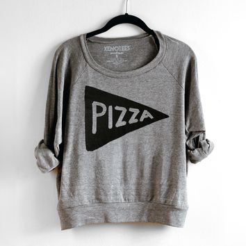 Womens Pizza Party Sweatshirt