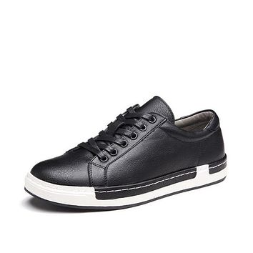 Handmade Men's Casual Lace-up Shoes