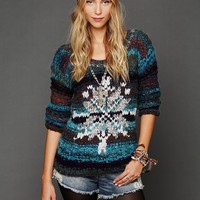 Free People Queen of Snowflakes Pullover