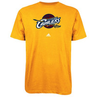 Cleveland Cavaliers adidas Primary Logo T-Shirt – Gold