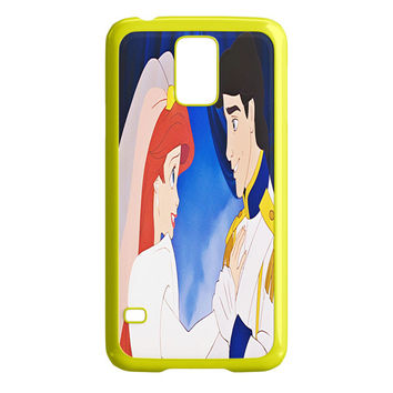 The Little Princess Disney Princess Ariel And Eric Married Samsung Galaxy S5 Case