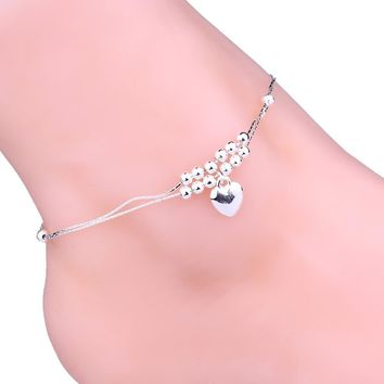 Anklet Foot Double Chain Crystal Bracelets