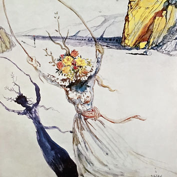 Transcendent Passage, Limited Edition Giclee, Salvador Dali