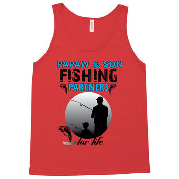 Pawpaw & Son Fishing Partners For Life Tank Top
