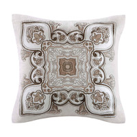 Echo Design™ Odyssey Square Pillow With Embroidery|Designer Living