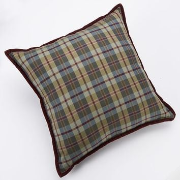 Chaps Home Brittany Plaid Decorative Pillow (Green)