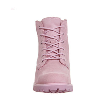Timberland Slim Premium 6 Inch Boot Pink Nubuck Exclusive - Ankle Boots