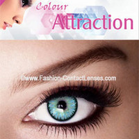 Aquamarine Color Attraction Contact Lenses change your eyes Aqua