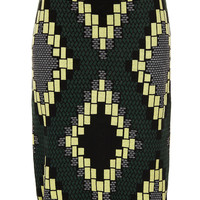 Knitted Jacquard Skirt - Pencil Skirts - Skirts - Clothing - Topshop USA