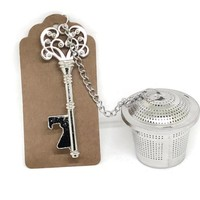 Unique Wedding Favor Tea Infuser and Rustic Key Bottle Opener Wedding Favors Guests Thank You Gift Bridal Party Gift Bridal Shower Gift