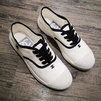 Chanel Women Casual Simple Sneakers Sport Shoes