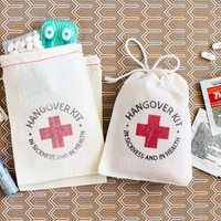 Hangover Kit - bachelorette party favor - bachelor party favor