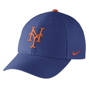 Men's New York Mets Nike Royal Wool Classic Adjustable Performance Hat