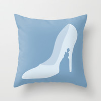 Cinderella Throw Pillow by Citron Vert