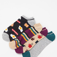 Urban Outfitters - Breakfast No-Show Sock - Pack of 4