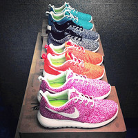 NIKE Women Men Running Sport Casual Shoes Sneakers starry sky pink