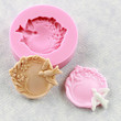 Bird and Flower Cabochon Silicone Mold Resin Mould Resin Fondant Candy Polymer Clay Wax Jewelry Mold (287)