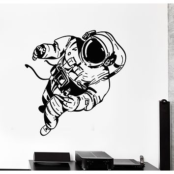 Vinyl Wall Decal Space Cosmic Spaceman Astronaut Costume Stickers Mural (g2790)