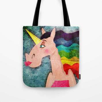 Rainbow Hair Unicorn Travel Mug by That's So Unicorny