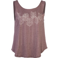O'Neill Arrow Sketch Tank Top - Women's Dusty Plum,