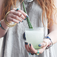 How To Make Aloe Water - Free People Blog