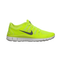 Nike Free 5.0+ Women's Running Shoe Size 7 (Yellow)