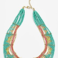 Stephan & Co. Beaded Collar Necklace (Juniors)