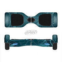 The Dark Vector Teal Jelly Fish Full-Body Skin Set for the Smart Drifting SuperCharged iiRov HoverBoard
