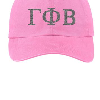 GPB / Gamma Phi Beta / Choose Your Colors / Sorority Cap