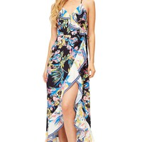 Blooming Radiance Maxi Dress