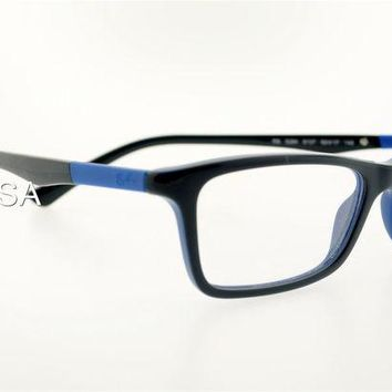 RAY-BAN RB RX 5284 5137 54MM BLACK BLUE FRAME EYEGLASS OPTICAL PRESCRIPTION