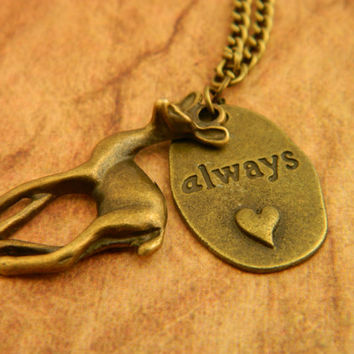 Always Necklace, Harry Potter Necklace, Snape Necklace, Professor Snape, Lily Potter, Harry Potter Gift, Statement Necklace, Fangirl, Magic