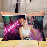 MILEY CYRUS Bangerz on Rectangle Pillow Cover