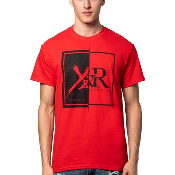 Shattered Tee - Red