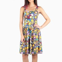 The Simpsons x Hello Kitty Party Dress