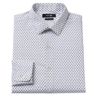 Apt. 9 Extra Slim-Fit Paisley Spread-Collar Dress Shirt - Men, Size: