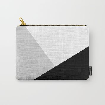 Monochromatic Carry-All Pouch by ARTbyJWP