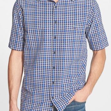 Men's Rodd & Gunn 'Alington' Regular Fit Check Short Sleeve Seersucker Sport Shirt