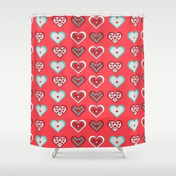 Valentine Shower Curtain by Heaven7 | Society6