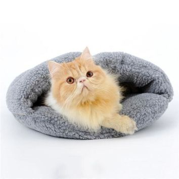 Cats Waterloo Sleeping Bag Four Seasons Yurt Cat House Cat Bed Doghouse Cat Accessories Thick Warm = 1930051972