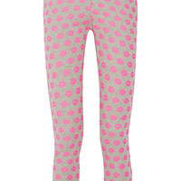 Markus Lupfer - Smacker printed cotton-terry track pants
