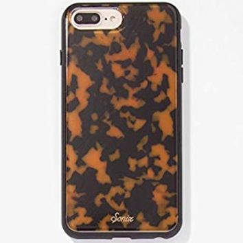 iPhone 8 Plus, 7 Plus, 6 Plus, Sonix Brown TORT Cell Phone Case [Military Drop Test Certified] Protective Luxe Tortoise Shell Case for Apple iPhone 6+, 6s+, 7+, 8+