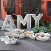 Love Letters Candy Dishes - David's Bridal- mobile